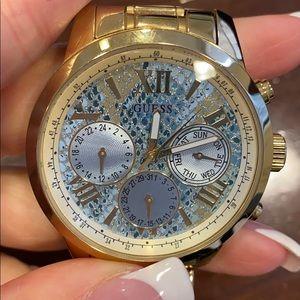 Gold GUESS Watch